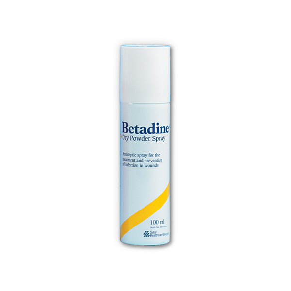 Betadine spray