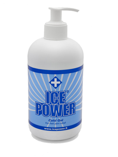 Ice Power Cold Gel with pump 400ml
