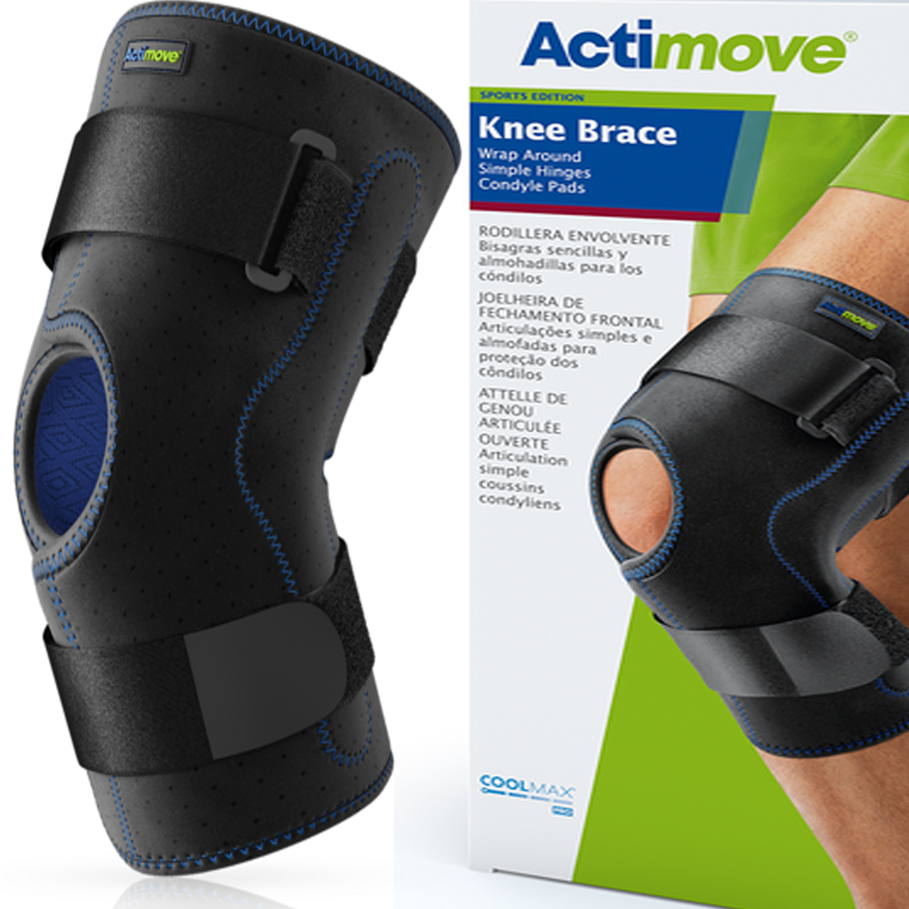 Actimove® Knee Brace Sport - Click Image to Close