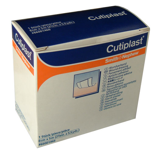 Cutiplast Strip 6cm x 5m - Click Image to Close