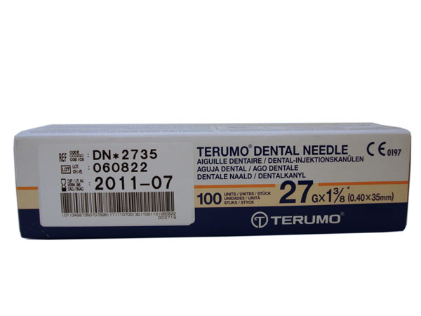 Hyperdermic Needles 27g long